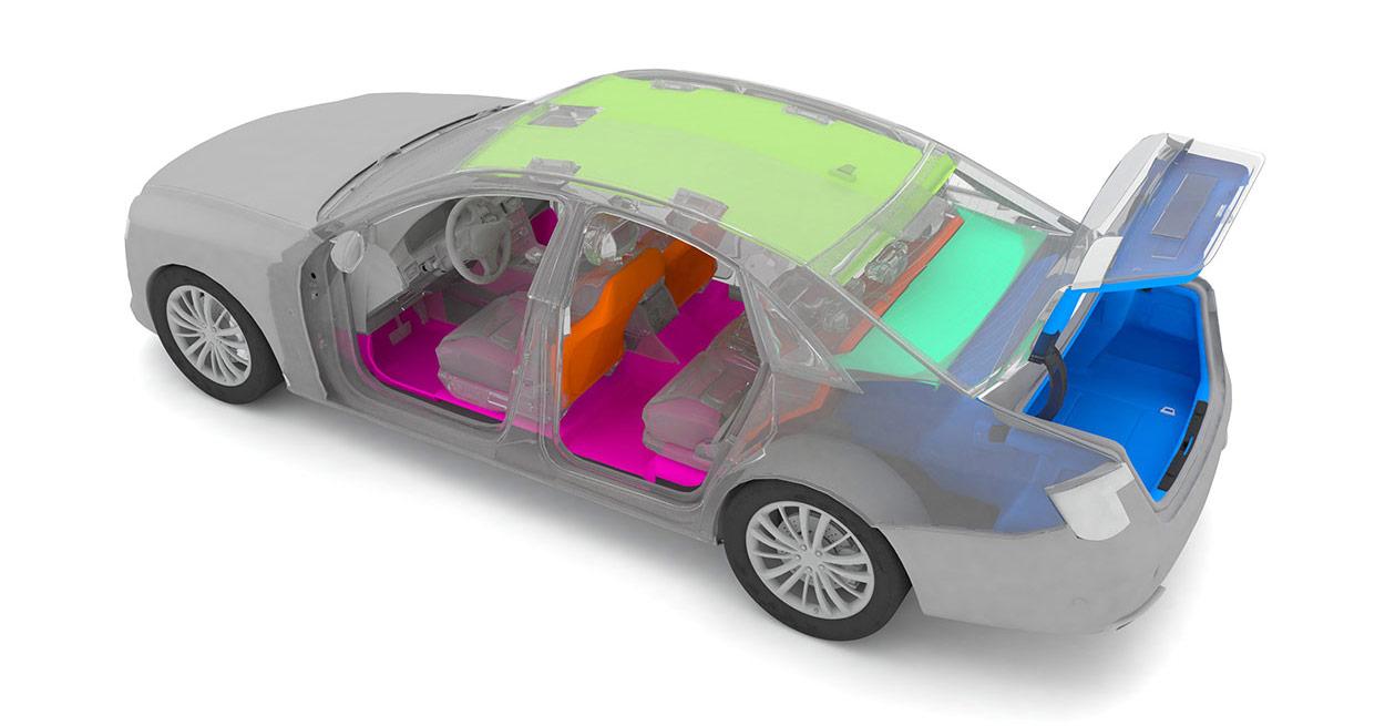 Elipsan Otomotiv Halıları - Automotive Carpets
